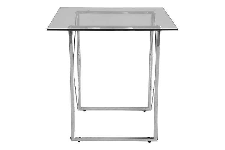 Clovis Sofabord 55 cm Metall/Glass - Krom - Møbler - Bord - Sofabord