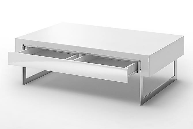 Cooper Sofabord 110 cm - Hvit - Møbler - Bord - Sofabord