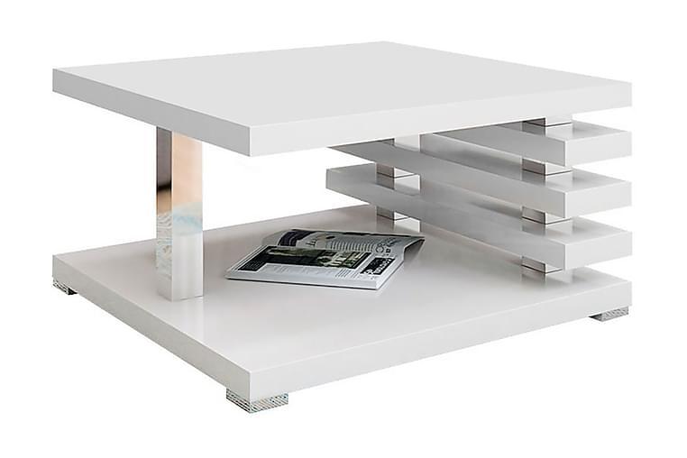 Coventry Sofabord 60 cm - Hvit Høyglans - Møbler - Bord - Sofabord