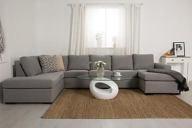 Dallas Sofabord 115 cm Ovalt