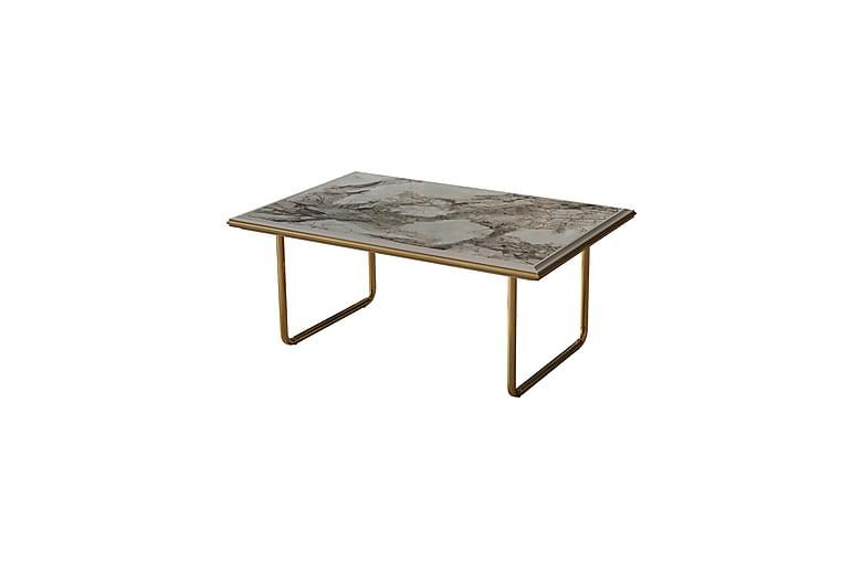 Emirgan Sofabord - Gull - Møbler - Bord - Sofabord