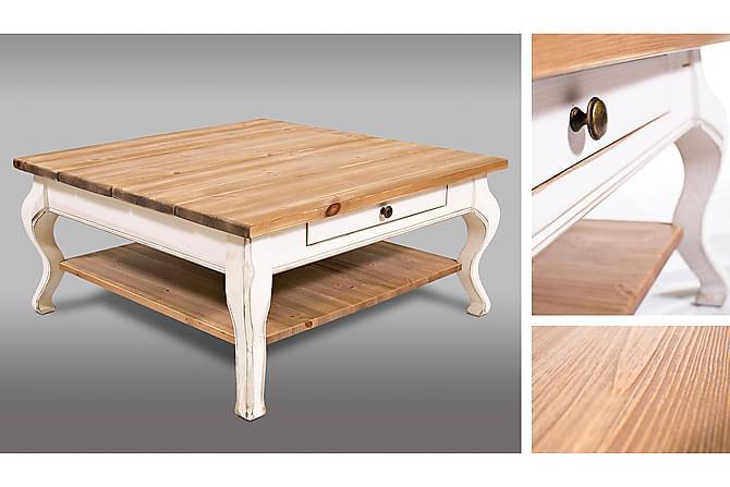 Ericsberg Sofabord 92 cm - Hvit/Beige - Møbler - Bord - Sofabord