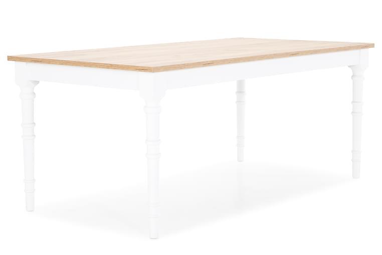 Erin Sofabord 130 cm - Beige/Hvit - Møbler - Bord - Sofabord