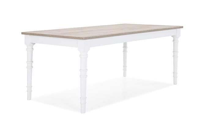 Erin Sofabord 130 cm - Hvit/Tre - Møbler - Bord - Sofabord