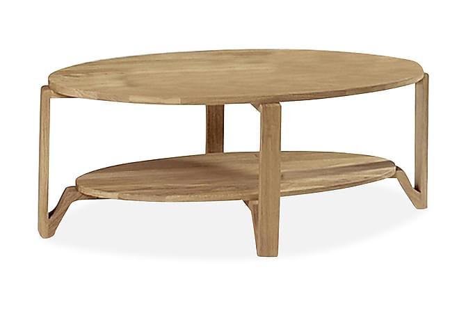 Eslöv Sofabord 120 cm Ovalt - Eik - Møbler - Bord - Sofabord