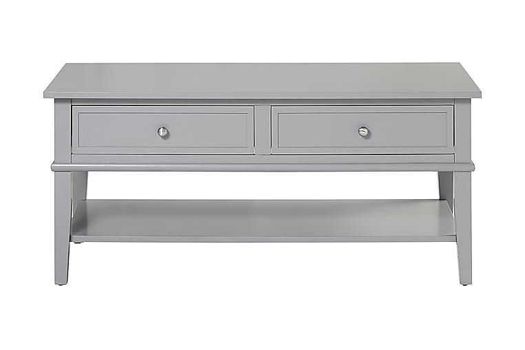 Franklin Sofabord 105 cm Grå - Møbler - Bord - Sofabord