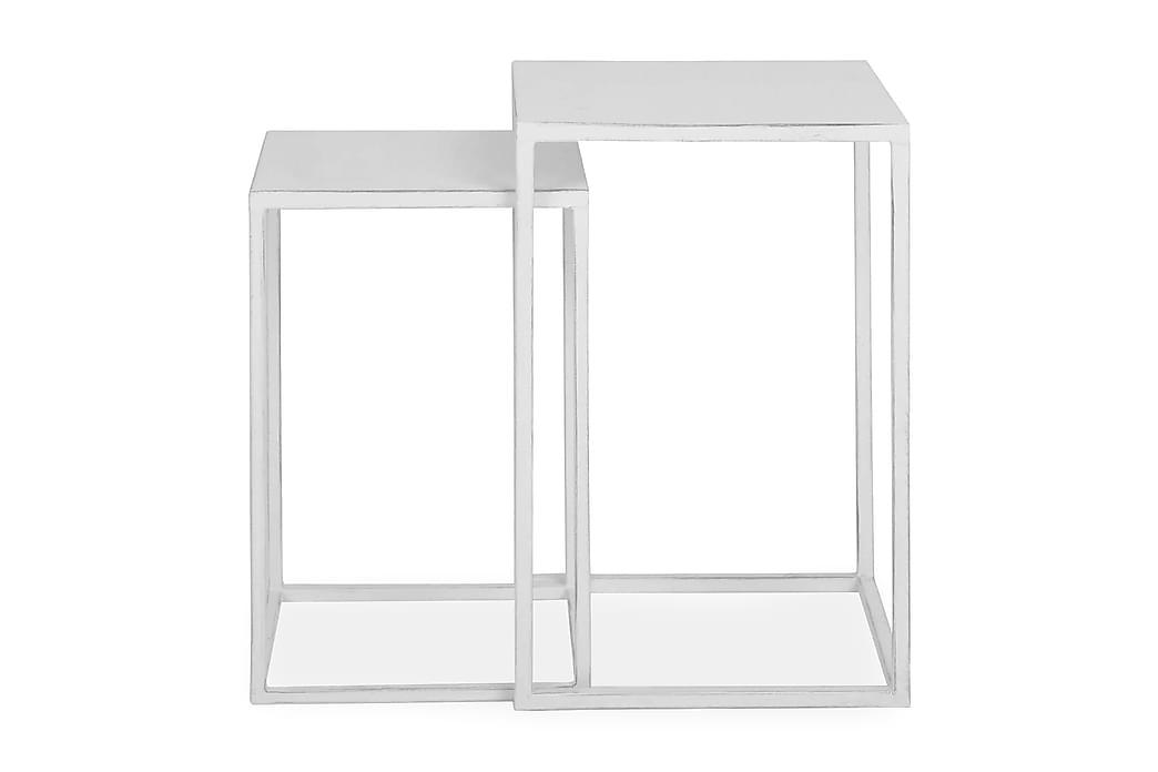 Hailey Settbord - Hvit - Møbler - Bord - Sofabord