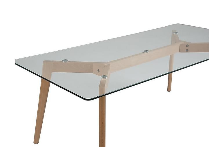 Hudson Sofabord 120 cm - Transparent - Møbler - Bord - Sofabord
