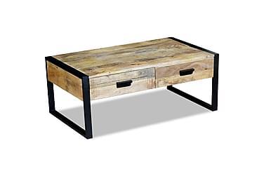 Noura Sofabord med 2 Skuffer 100x60 cm