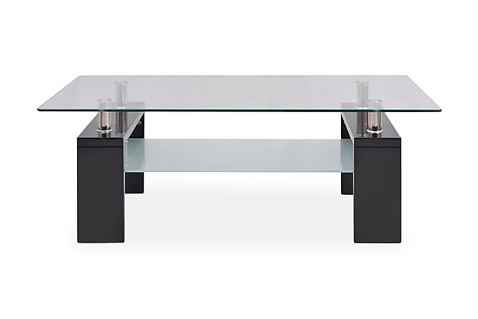 Kandy Sofabord 110x60 cm - Svart Høyglans - Møbler - Bord - Sofabord