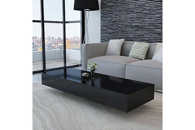 Kanga Sofabord 115x55 cm - Svart Høyglans - Møbler - Bord - Sofabord