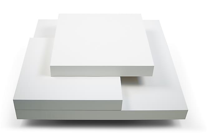 Karyo Sofabord 90 cm - Hvit - Møbler - Bord - Sofabord
