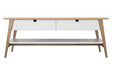 Lerhamn Sofabord 130 cm med 2 Skuffer