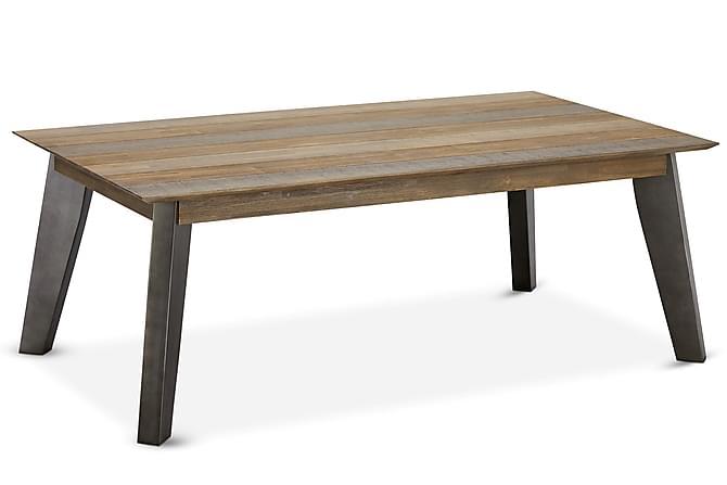 Malaga Sofabord 140 cm - Brun/Sølv - Møbler - Bord - Sofabord