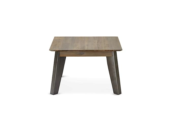 Malaga Sofabord 70 cm - Brun/Sølv - Møbler - Bord - Sofabord