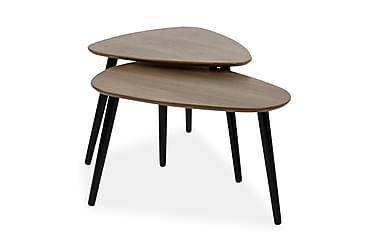 Milo Sofabord 62 cm Ovalt