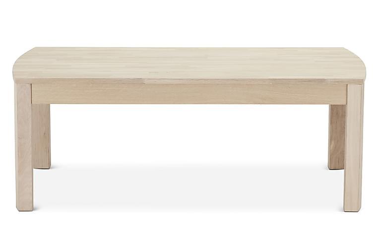 Paris Sofabord 140 cm - Eik/Hvit - Møbler - Bord - Sofabord