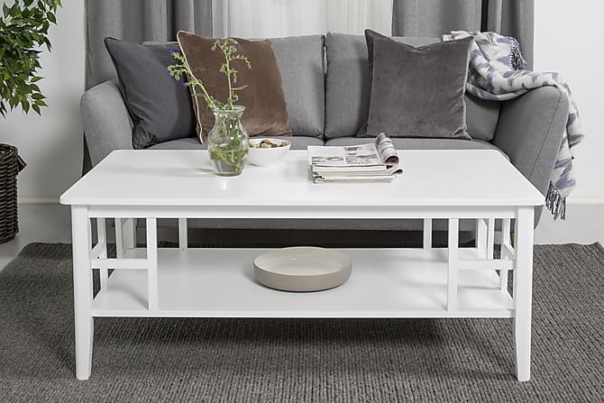 Piteå Sofabord 130 cm - Hvit - Møbler - Bord - Sofabord