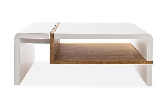 Robela Sofabord 100 cm - Hvit - Møbler - Bord - Sofabord