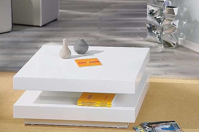Roero Sofabord 75 cm - Hvit - Møbler - Bord - Sofabord