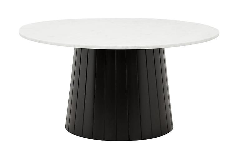 Salazar Sofabord 90 Hvit/Svart - Møbler - Bord - Sofabord