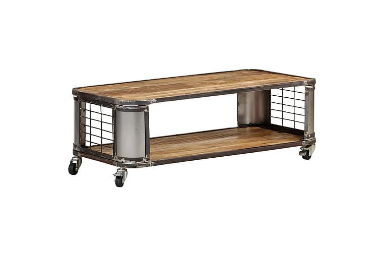 Salongbord 100x50x35 cm heltre mango - Møbler - Bord - Sofabord