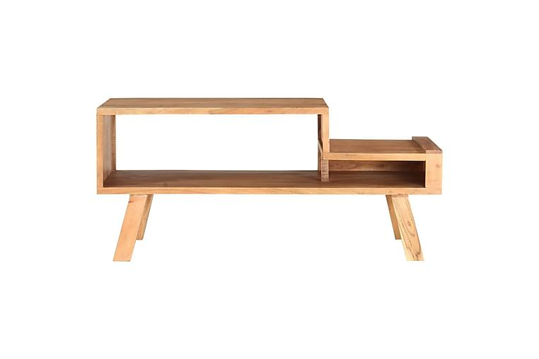 Salongbord 100x50x45 cm heltre akasie - Møbler - Bord - Sofabord