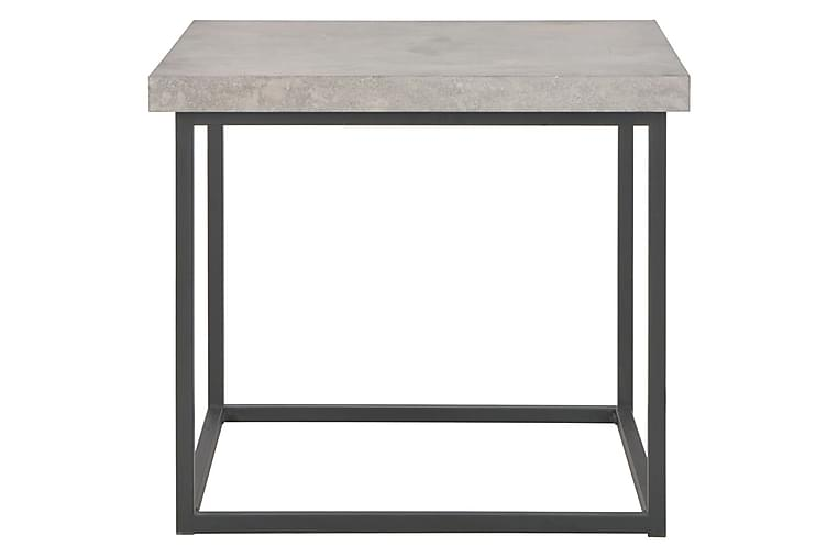 Salongbord 55x55x53 cm betongutseende - Møbler - Bord - Sofabord