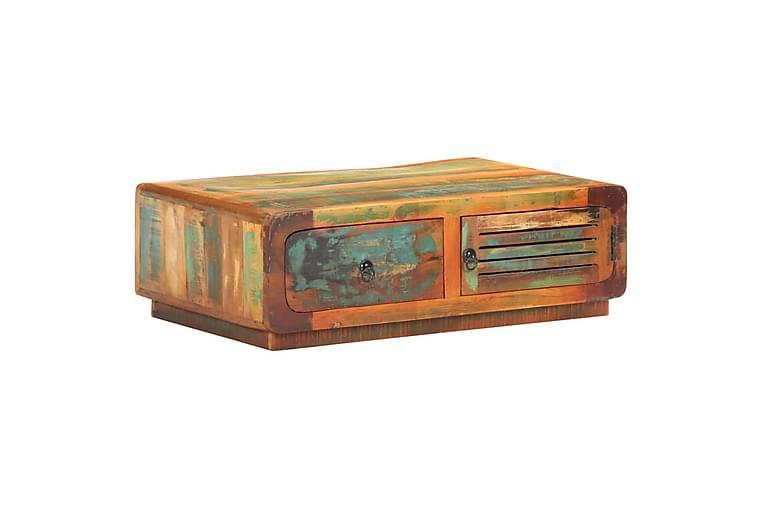 Salongbord 90x60x29 cm gjenvunnet heltre - Møbler - Bord - Sofabord