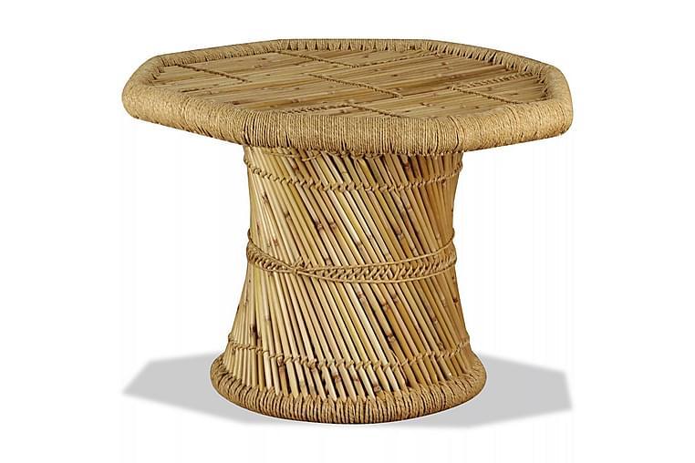 Salongbord bambus åttekantet 60x60x45 cm - Bambus - Møbler - Bord - Sofabord