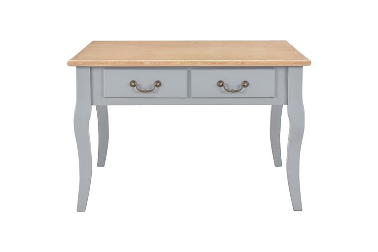 Salongbord grå 80x80x50 cm tre - Møbler - Bord - Sofabord