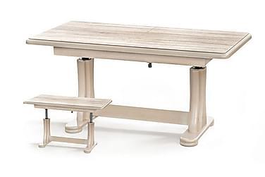 Tymon Sofabord 125x65 cm Høy- og Forlengningsbart
