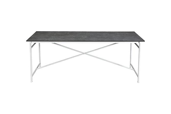 Antwerp Spisebord 200 cm - Hvit/Grå - Møbler - Bord - Spisebord & kjøkkenbord