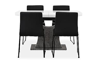 Azusa Forlengningsbart Spisebord 140 cm