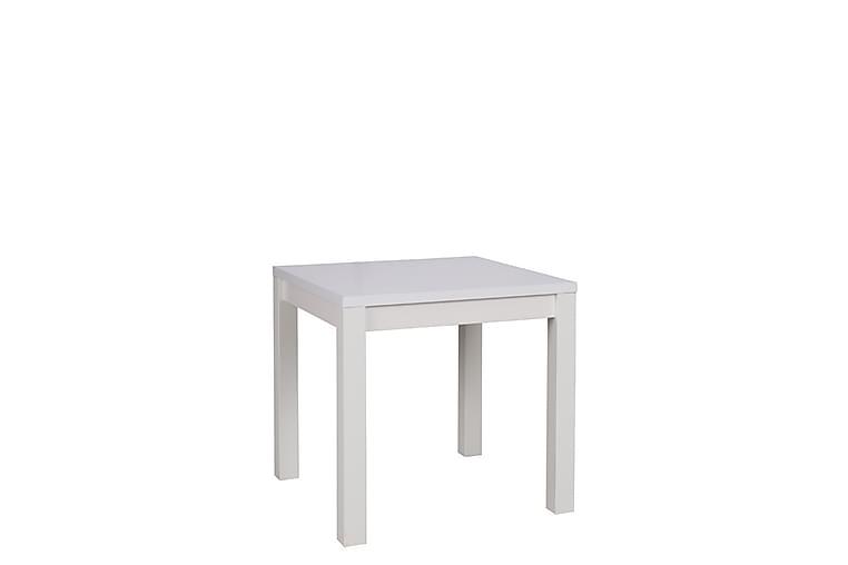 Barbera Spisebord 80 cm - Hvit - Møbler - Bord - Spisebord & kjøkkenbord