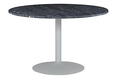 Capri Spisebord 100 cm Rundt Marmor