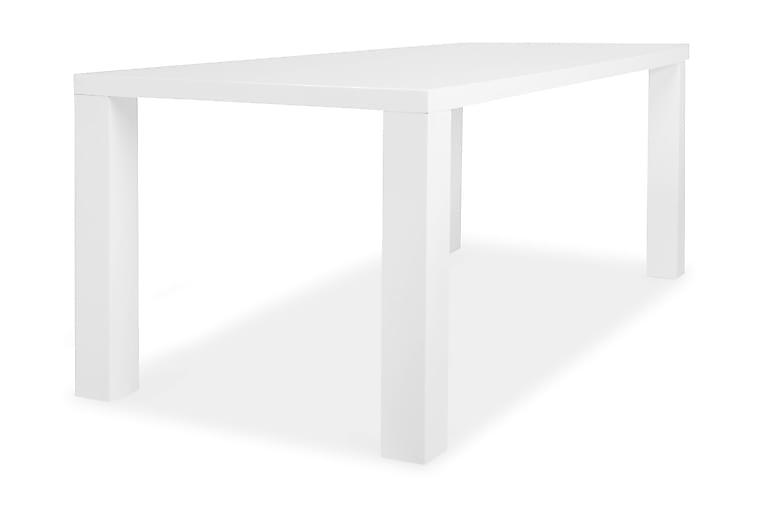 Cibus Spisebord 180x90 cm - Hvit - Møbler - Bord - Spisebord & kjøkkenbord