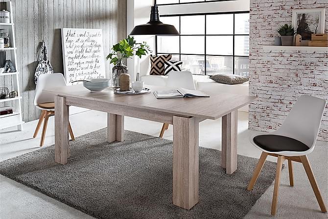 Conor Forlengningsbart Spisebord 160 cm - Tre/Natur - Møbler - Bord - Spisebord & kjøkkenbord