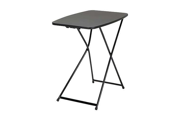 Fold Away Spisebord 66 cm Svart - Møbler - Bord - Spisebord & kjøkkenbord