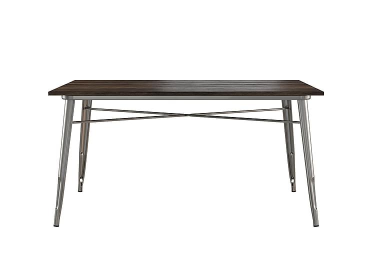 Fusion Spisebord 150 cm Stålgrå - Møbler - Bord - Spisebord & kjøkkenbord