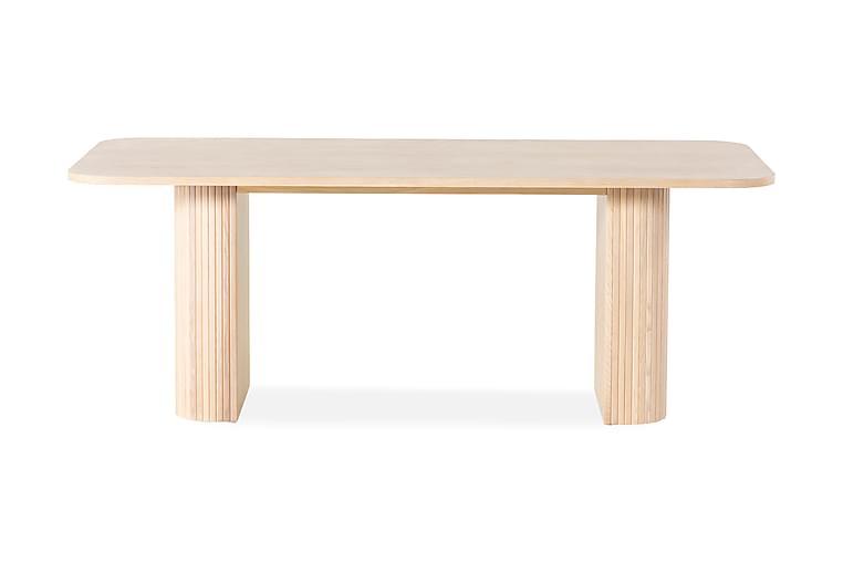 Kopparbo Spisebord 200 cm - Hvit - Møbler - Bord - Spisebord & kjøkkenbord