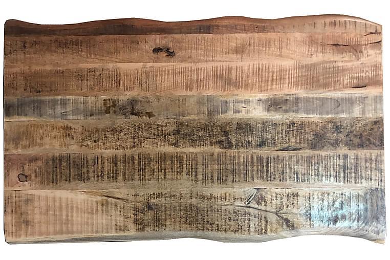 Laikera Spisebord 160x90 cm - Mango/Natur/Sølv - Møbler - Bord - Spisebord & kjøkkenbord