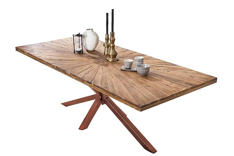 Laikera Spisebord 160x90 cm - Resirkulert Teak/Brun - Møbler - Bord - Spisebord & kjøkkenbord