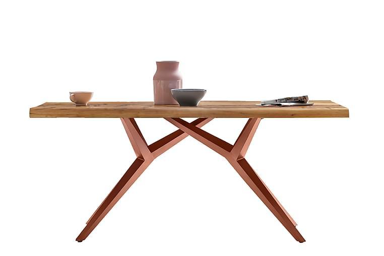 Laikera Spisebord 200x100 cm - Eik/Brun - Møbler - Bord - Spisebord & kjøkkenbord
