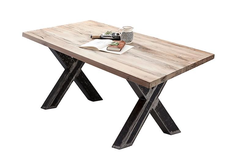 Laikera Spisebord 220 cm - Hvit/Sølv - Møbler - Bord - Spisebord & kjøkkenbord