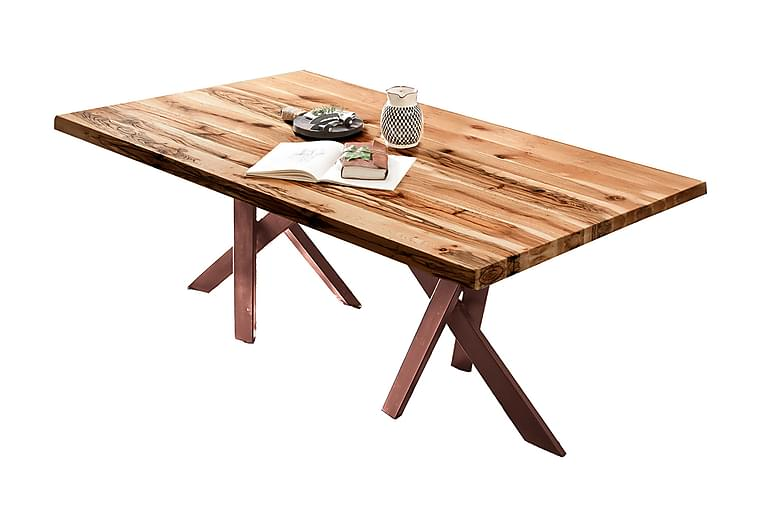 Laikera Spisebord 240 cm - Eik/Brun - Møbler - Bord - Spisebord & kjøkkenbord