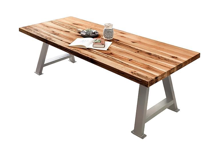 Laikera Spisebord 240 cm - Eik/Sølv - Møbler - Bord - Spisebord & kjøkkenbord