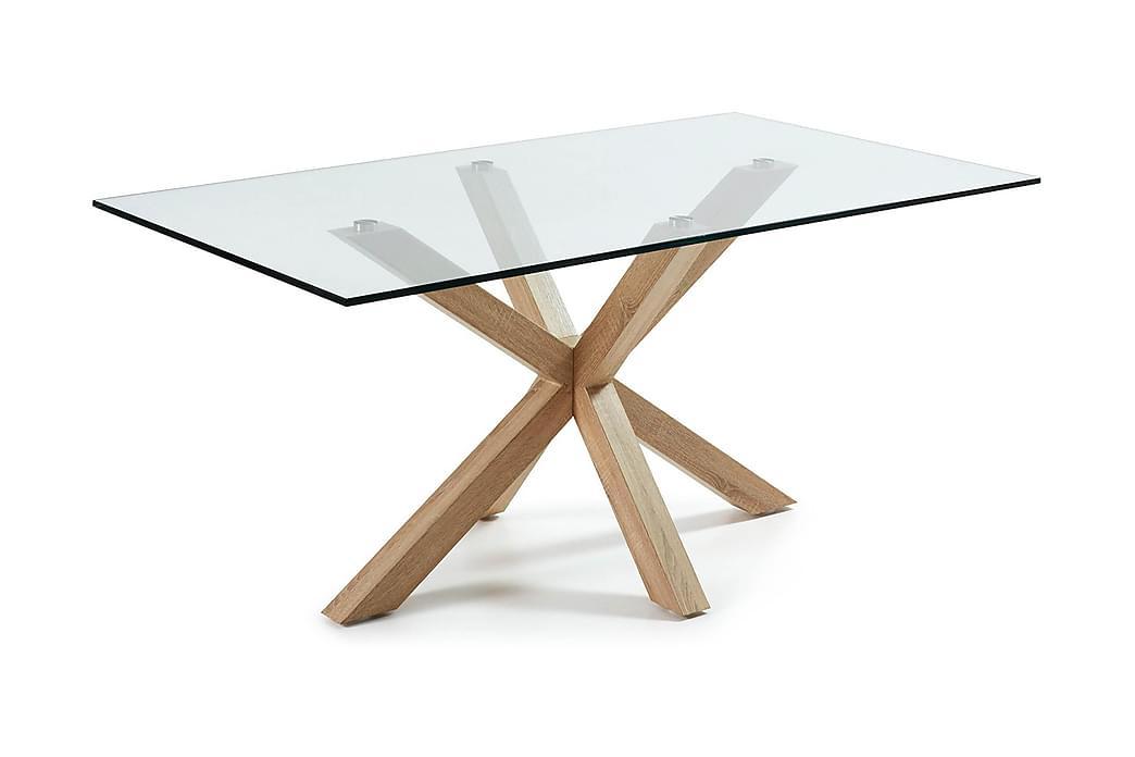 Lamoli Spisebord 160 cm Glass - Møbler - Bord - Spisebord & kjøkkenbord