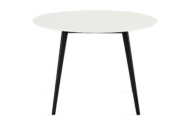 Life Spisebord 120 cm Rundt - Hvit - Møbler - Bord - Spisebord & kjøkkenbord