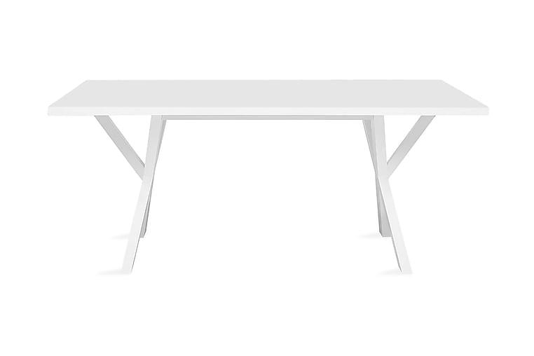 Lisala Spisebord 180 cm - Hvit - Møbler - Bord - Spisebord & kjøkkenbord